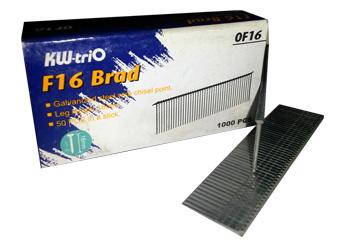 Гвозди для степлеров (текеров) KW-Trio F16 Brad 0F16