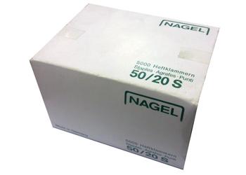 Скобы 50/20 S для степлеров Nagel