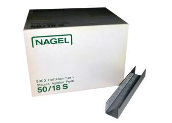Скобы 50/18 S для степлеров Nagel